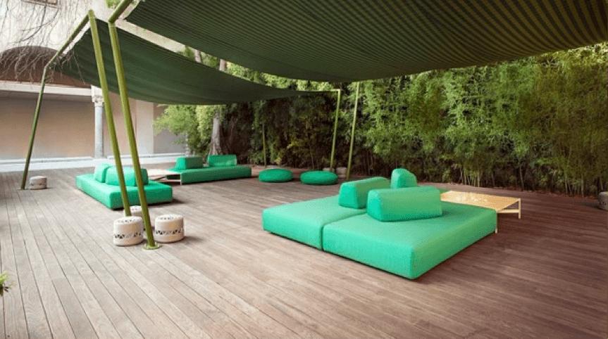 Houten designterras | Xyladecor