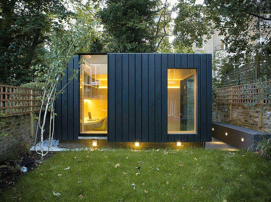 modern tuinhuis bijgebouw