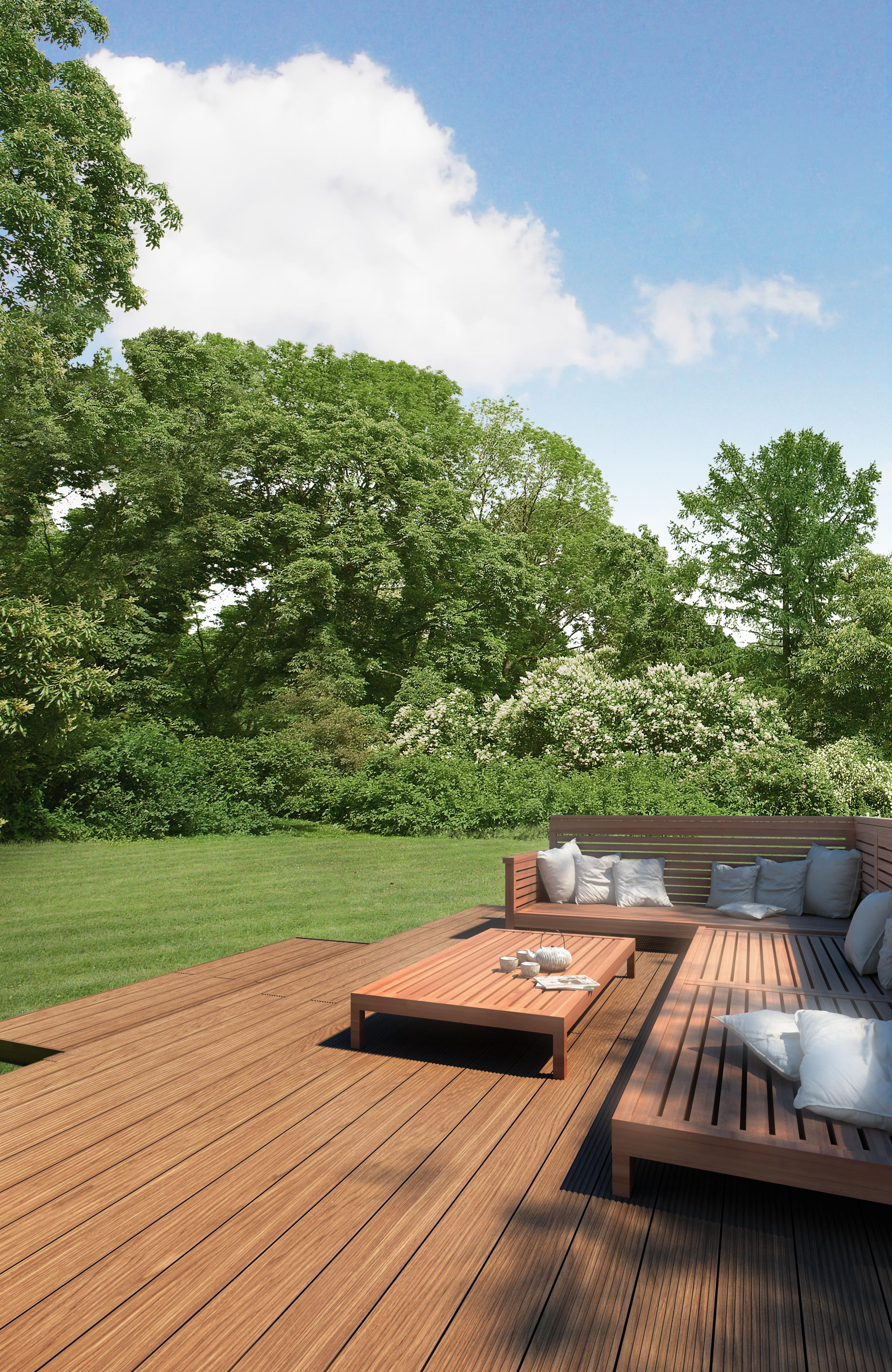 Produit Pour Nettoyer Terrasse En Bois terrasses et bardages en bois composite : pourquoi vous