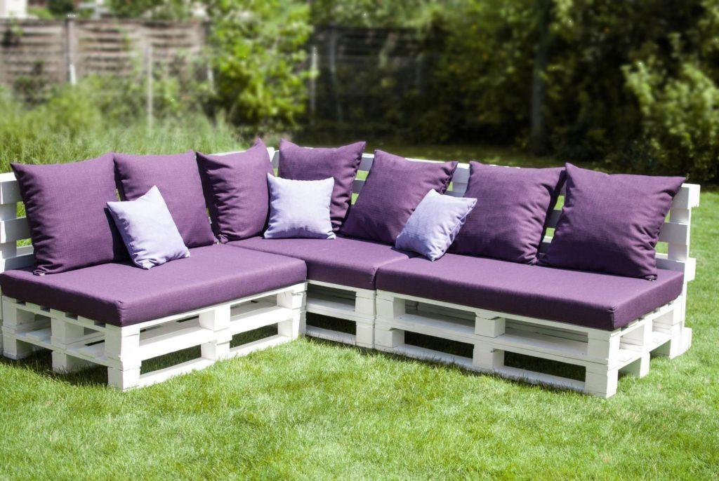 Fabriquez votre salon de jardin en palette | Blog Xyladecor